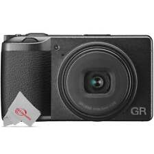 Ricoh GR III 24.2MP APS-C Point and Shoot Digital Camera 28mm f/2.8 Lens Black
