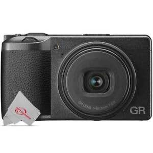 Ricoh GR III 24.2MP APS-C Point and Shoot Digital Camera 28mm f/2.8 Lens Black