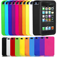 GEL CASE COVER SKIN PROTECTOR IPHONE 5/5s 6/6s 6/6s PLUS SOFT SILICONE RUBBER