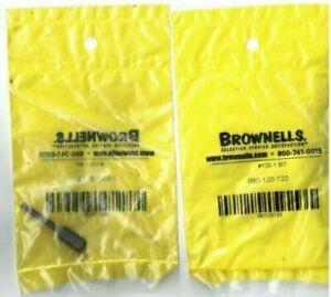 Brownells 080-120-120 Super-Thin Bits For European Style Slots Gun Shop Smith