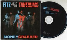 FITZ and THE TANTRUMS CD single 2 tracce MONEYGRABBER 2011 cardsleeve