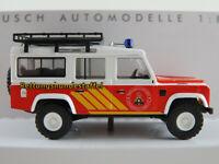 "Busch 50370 Land Rover Defender ""Rettungshundestaffel Ostwestfalen-Lippe""1:87/H0"
