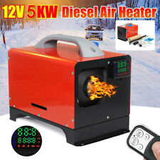 12V 5Kw 1-hole Lcd Diesel Air Heater Parking Heater Fuel Heater Cars Vans Remote