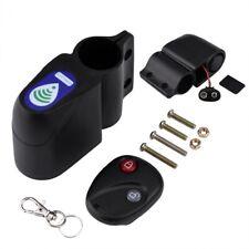 Bicycle Alarm Anti-Theft Lock Mountain Bike Wireless Remote Control Passwor