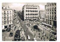 napoli p.za carità senza monumento a salvo d' acqisto autobus taxi spedita 1956