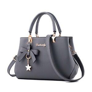 Women Leather Handbags Shoulder Messenger Satchel Tote Lady Crossbody Bags Purse
