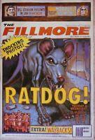 Bob Weir Ratdog Fillmore Poster 3/2/2004 F610 Grateful Dead