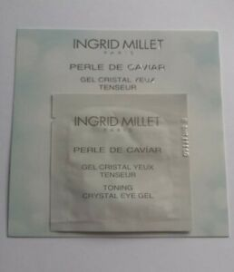 10 x Ingrid Millet Toning Crystal Eye Gel 1ml each - 10ml total