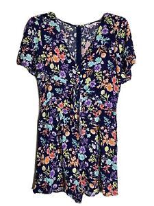 Supre Dress Floral Jumpsuit Size 14