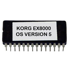 Korg EX-8000 - V. 5 Latest OS Update Firmware Eprom