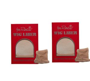 Jon Renau Beige Fish Net Wig Liner 2 packs (1pc/pack)