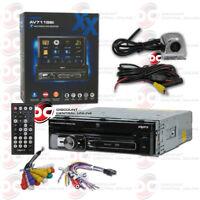 "SOUNDSTREAM VR-75XB CD BLUETOOTH MOTORIZED 7/"" LCD STEREO FREE 170° BACKUP CAMERA"