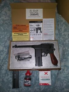 New UMAREX LEGENDS M712 Semi- Auto/Full Auto BB Co2 Pistol With Blow Back Action