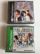 Final Fantasy VIII And IX (Sony PlayStation 1, 2000) Complete/excellent!!!