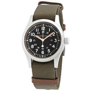 Hamilton Khaki Field Hand Wind Black Dial Men's Watch H69439931