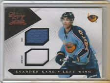 EVANDER KANE GAME USED DUAL PRIME JERSEY 2 COL #/150 2010-11 LUXURY SUITE