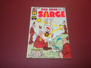 SAD SACK AND THE SARGE #83 Harvey Comic 1970 funny war cartoons GEORGE BAKER