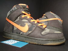 2006 Nike Dunk High Pro SB BRIAN ANDERSON CAMO OLIVE GREEN ORANGE 305050-281 11
