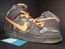 2006 Nike Dunk High Pro SB BRIAN ANDERSON CAMO OLIVE GREEN ORANGE 305050-281 11