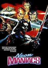 DVD Neon Maniacs (WS) NEW Clyde Hayes, Leilani Sarelle