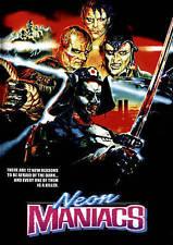 NEON MANIACS NEW DVD