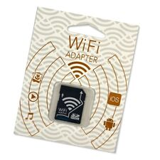 Wireless WiFi Micro SD TF Flash Card SDHC Memory Adapter For Apple iOS Android