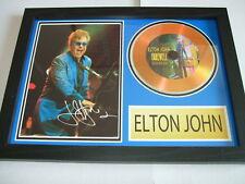 ELTON JOHN   SIGNED  GOLD CD  DISC 2