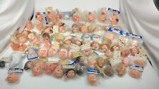 Vintage Doll Heads Lot Westrim Crafts Darice Bead Gallery Doll making Parts74