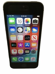 Apple iPhone 5s~16GB~Space Grey A1533~(GSM)ATT~Works Perfect~No Sim Card Inc~EUC