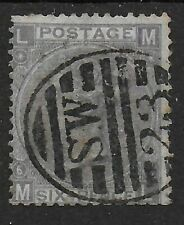 SG104.  6d.Lilac (With Hyphen) Plate 6. good/Fine Used.  Cat.£175. Ref.11112