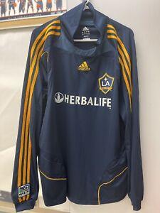 Rare vintage Adidas David Beckham Los Angeles Galaxy long sleeve soccer jersey