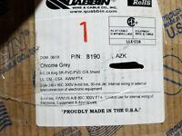 Quabbin 8190 24/8C Shielded Communication Cable Belden 9538 equiv. Gray /50ft