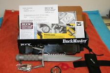 BUCK KNIFE MODEL 184 BUCKMASTER- 1985 - 2ND PAT. PENDING  VERSION - NOS/NIB