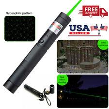 New listing 532nm 50Miles Pointer Pen Burning Beam Green Light Usa High Power Military Laser