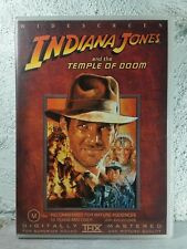 Indiana Jones and the Temple of Doom - Widescreen Edition (DVD) THX MASTERED !!
