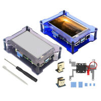 """4"""" USB HDMI IPS LCD Display Touch Screen Monitor w/ Case Fan For Raspberry Pi"""