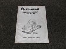 1988 International 9300 9370 Truck Electrical Wiring Circuit Diagram Manual