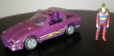 M.A.S.K Manta Vehicle. Venom. With M.A.S.K figure. Kenner. Nissan 300zx. 1987
