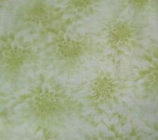 Shades of Dahlias BTY Herbie Wilmington Hello Tonal Green Floral