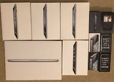 Lot of 11 EMPTY Apple Boxes iPhone 3G 3GS 4 4S 5 iPad MacBook Pro iPod Classic