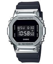 New Casio G-Shock Stainless Steel Resin Strap Watch GM5600-1