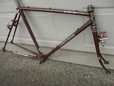 52-cm Centurion Elite GT Vintage Touring Road Bike Frameset Lugged Butted Extras