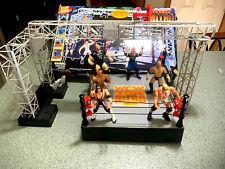 VINTAGE WCW NITRO ARENA WWF WRESTLERS WRESTLING RING FIGURES WWF WCW WRESTLING