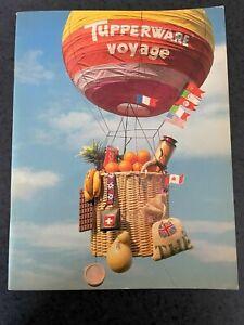 Livre Tupperware Voyage 1982