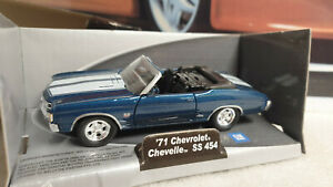 WELLY  MODEL -  1971 CHEVROLET CAMARO SS454 - 1/32 SCALE  MODEL / TOY CAR
