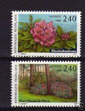 FRANCE N° 2849 & 2850 neufs **,fleurs, cote: 18 €, TTB