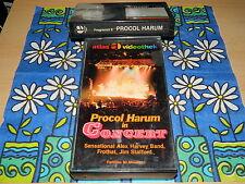 BETA Rarität - Procol Harum in Concert - 60 Min. - Atlas Glasbox - NEU - no DVD