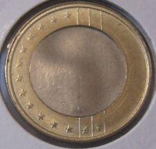 Misslag 1 Euromunt Nederland