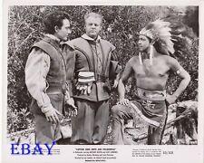 Anthony Dexter brave barechested man VINTAGE Photo Captain John Smith Pocahontas