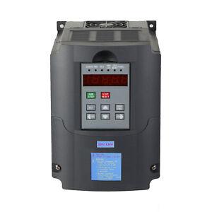 Frequenzumrichter Einphasig VFD 1.5 - 2.2kW 3-phase AC Motor Drehzahlregler 220V